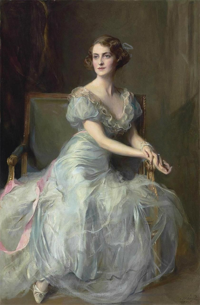 . Philip Alexius de Laszlo. Portrait of Lady Illingworth