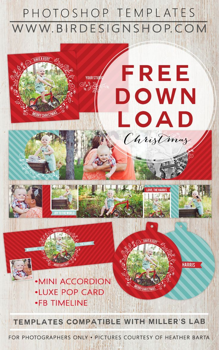 november freebie christmas photo card templatefree