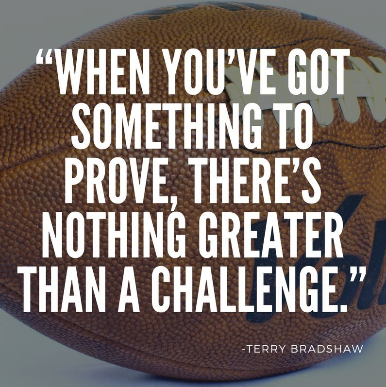 Motivational Sports Quotes Delectable Motivational Sports Quote  Bradshaw Httpsithadtobetold