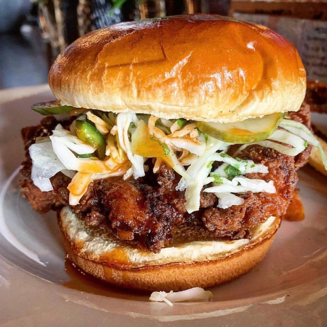 harding s on instagram here s something that s worth the hype our tennessee style fried chicken sandwi fried chicken sandwich chicken sandwich fried chicken pinterest
