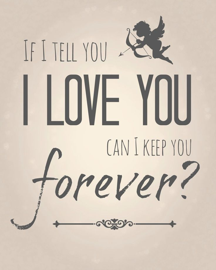 I Will Keep You Foreverhim For My Husband 3 Love Quotes Cute