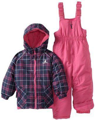 5b5d3b71b ShopStyle  Rugged Bear Girls 2-6x Plaid Printed Snowsuit