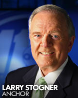 Larry Stogner, a retiring news anchor for an ABC affiliate in North Carolina, stunned viewers on Friday when he revealed he has ALS.