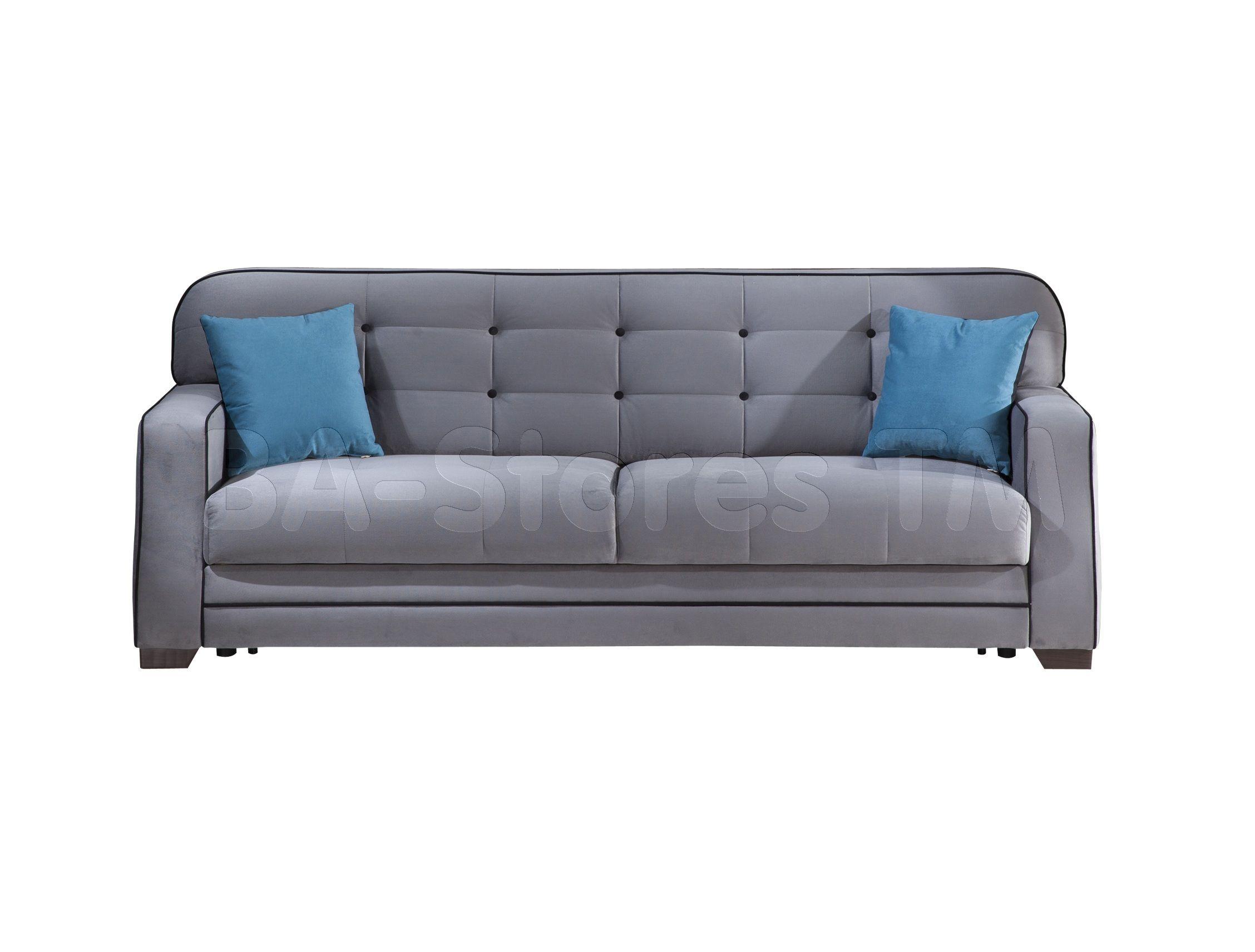 Fluo Sofa Sleeper In Koala Gray By Istikbal