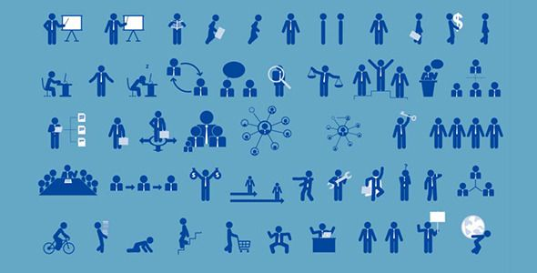 Pictogram Infographic Kit Pictogram and Infographic - animated power point template