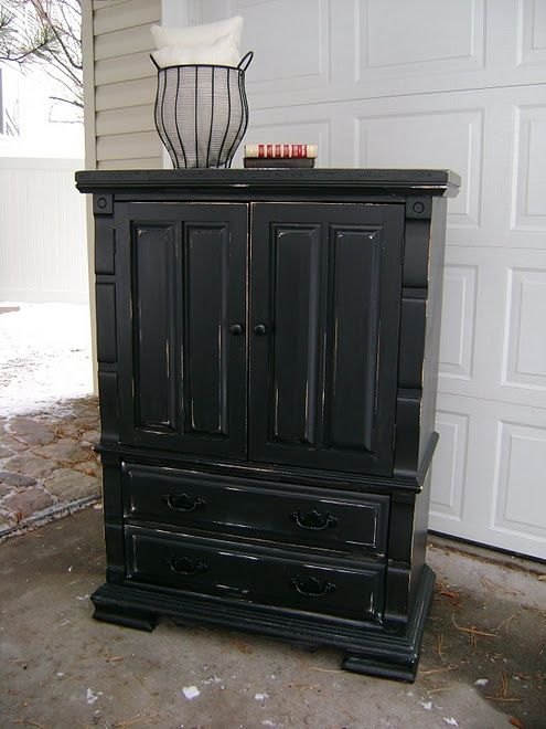 black painted furniture ideas. Black Distressed Furniture Http://coastersfurniture.org/shabby-chic- Painted Ideas I