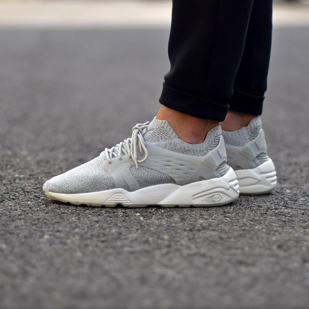 97237909c86 Puma Blaze Cage Evoknit Steel Gray . Disponible Available  SNKRS.COM ...