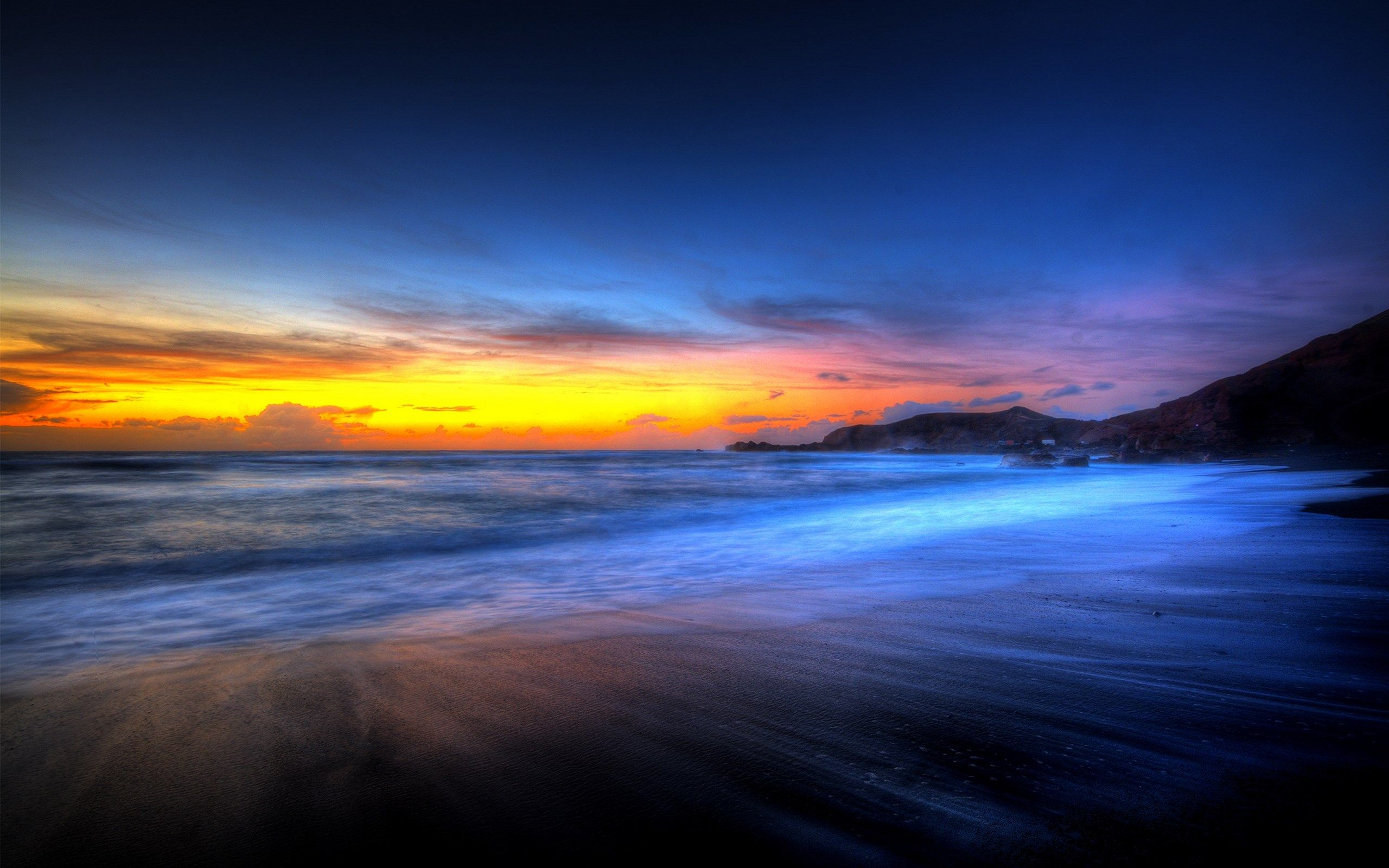 2560X1600 Free Screensaver Wallpapers For Sunset