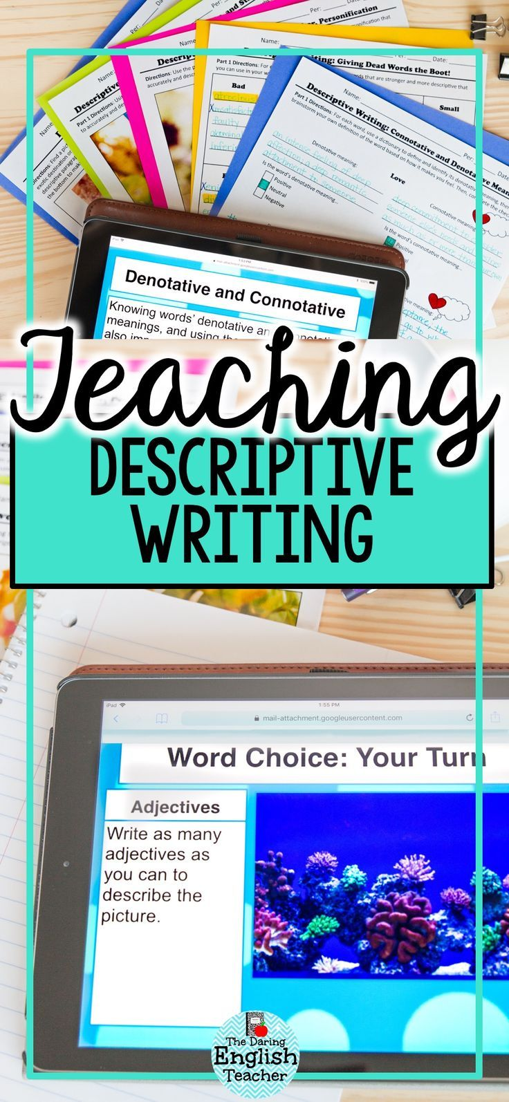 Descriptive Writing MiniUnit Writing with Strong Verbs