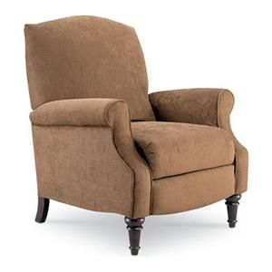 Chloe Hide A Chaise High Leg Recliner In Walnut Nebraska Furniture Mart High Leg Recliner Lane Furniture Furniture