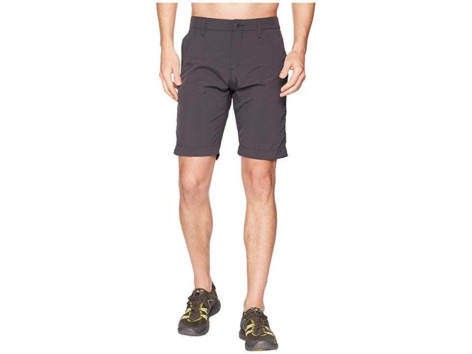 Jack Wolfskin Desert Valley Shorts (Phantom) Men's Shorts
