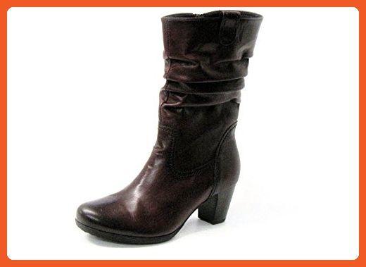 Women Ankle Boots red, (wine (Effekt