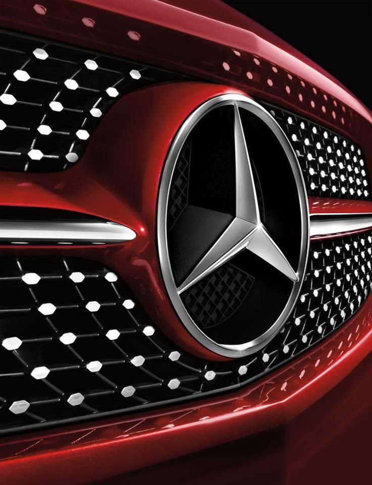 s led white ml car front gls grill logo star gle p light badge glc benz mercedes emblem