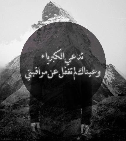 تد عي الكبرياء وعيناك لم تغفل عن مراقبتي Arabic Love Quotes Dont Like Me Quotes Arabic Quotes