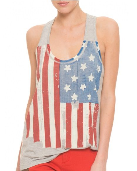 Carrie Underwood And Kellie Pickler Have Showed Their Patriotic Style In This Shirt Patriotic Fashion Tank Top Fashion Fashion