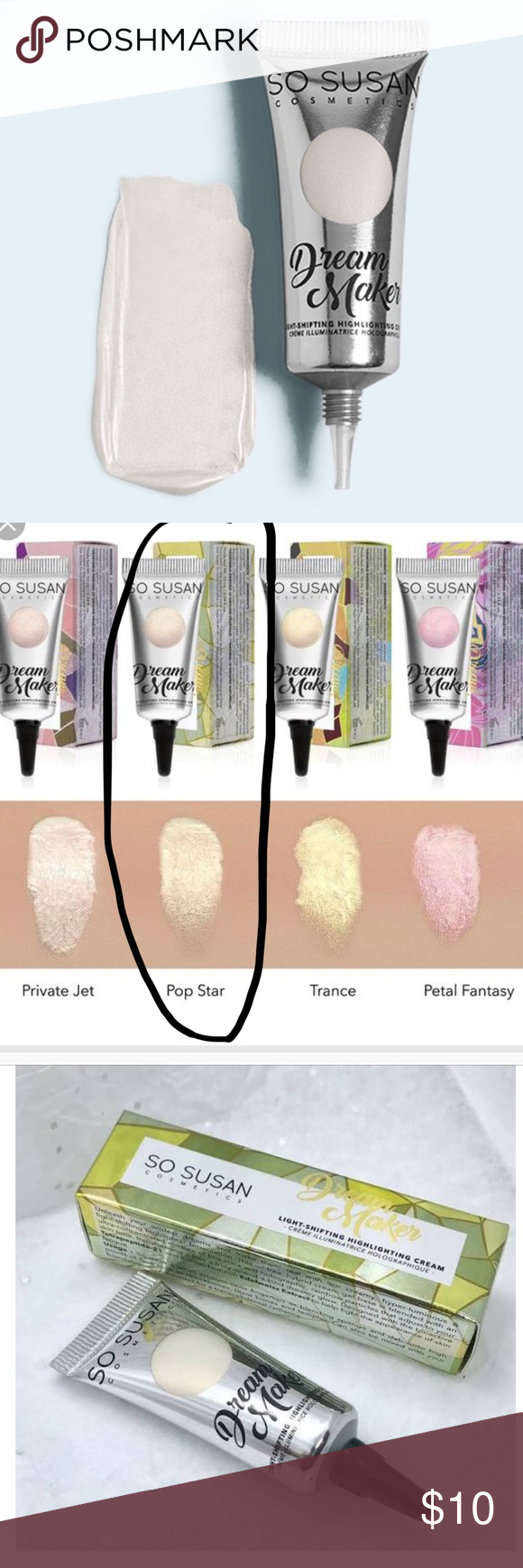 So Susan Cosmetics Dream Maker In Shade Popstar Cosmetics Things To Sell Shades
