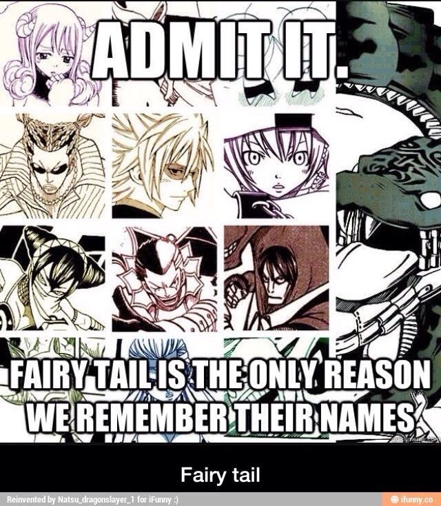 fairy tail memes ifunny.co on We Heart It in 2020 (With