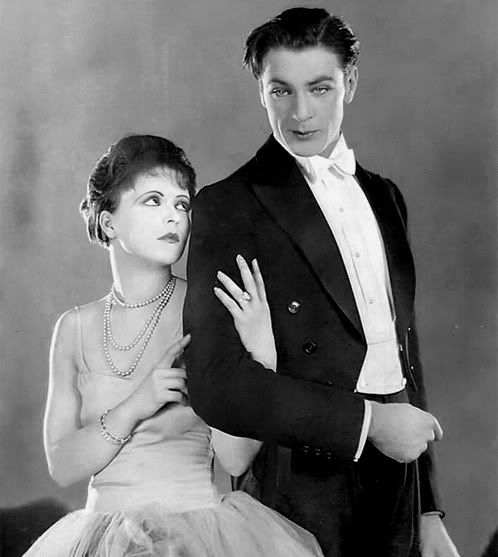 Clara Bow and Gary Cooper