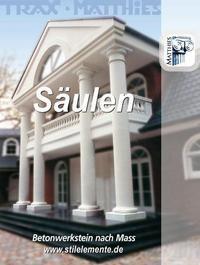 Säulen | Eingangssäulen | Säulen für Häuser | Betonwerkstein Säulen
