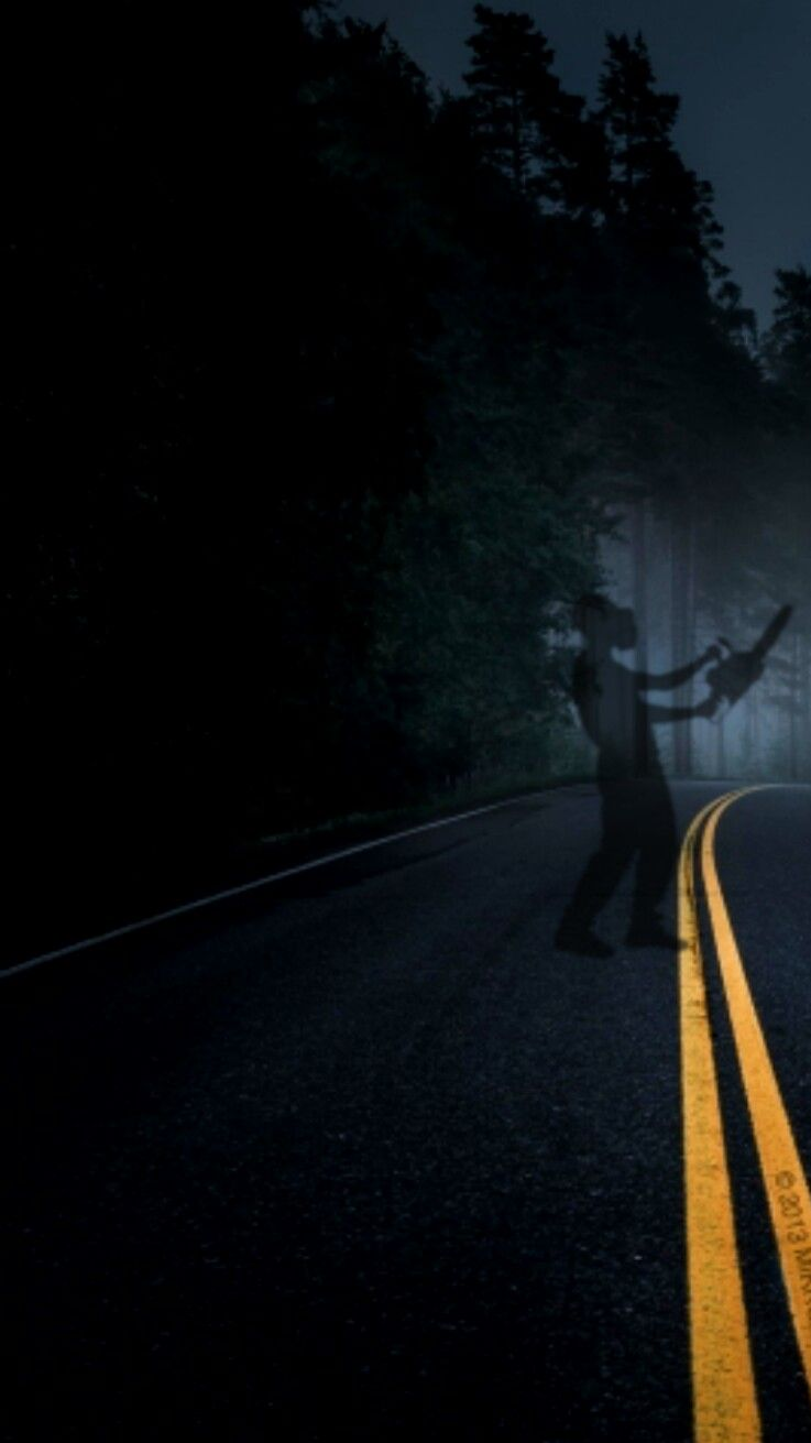Scary iphone wallpaper dark roads are creepy scary - Scary wallpaper iphone ...