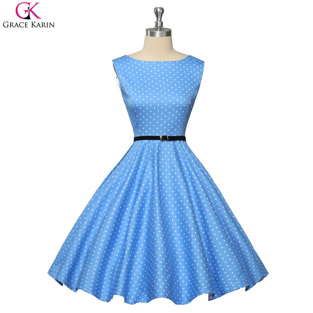 Click to buy ucuc short prom dresses women summer vintage dress swing