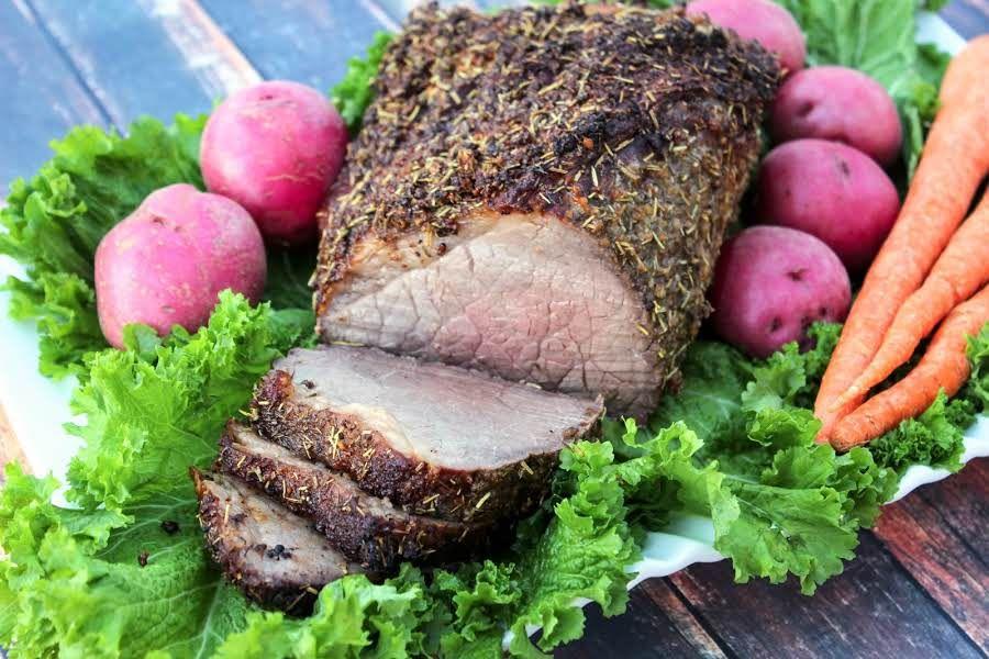 Round Roast Beef Bottom Perfection Recipe Bottom Round Roast Recipes Recipes Beef Recipes