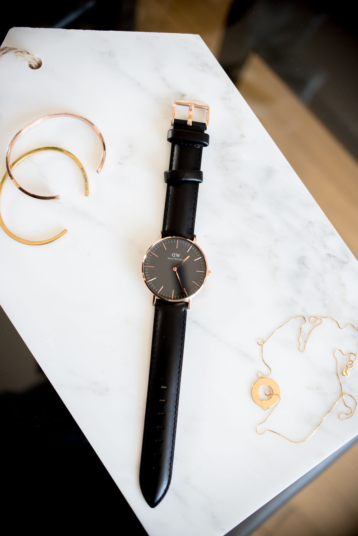 Daniel Wellington Classic Black watch / Anna Sofia - Style Plaza