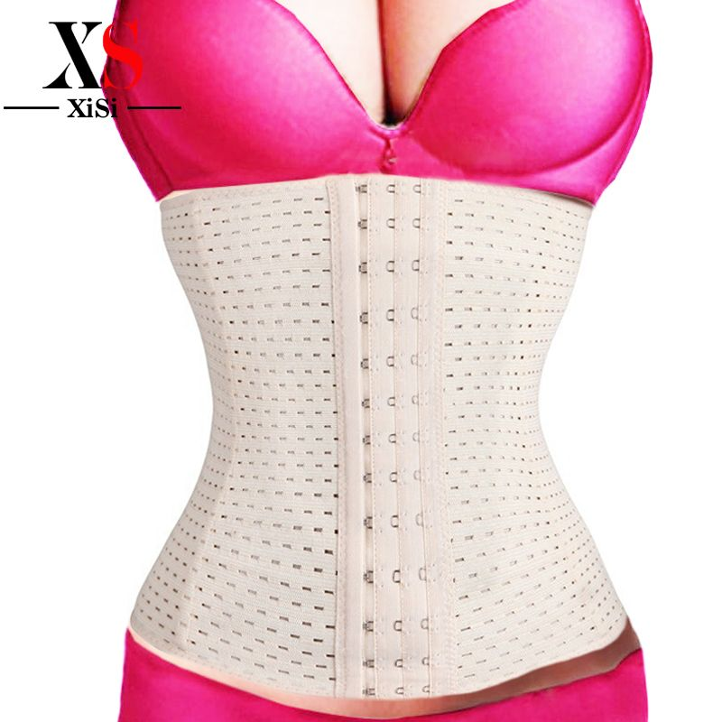 2015 mujeres de la cintura corsés fajas de underbust nueva cintura trainer trainer body tummy control de la talladora del corsé del corsé que adelgaza 5xl
