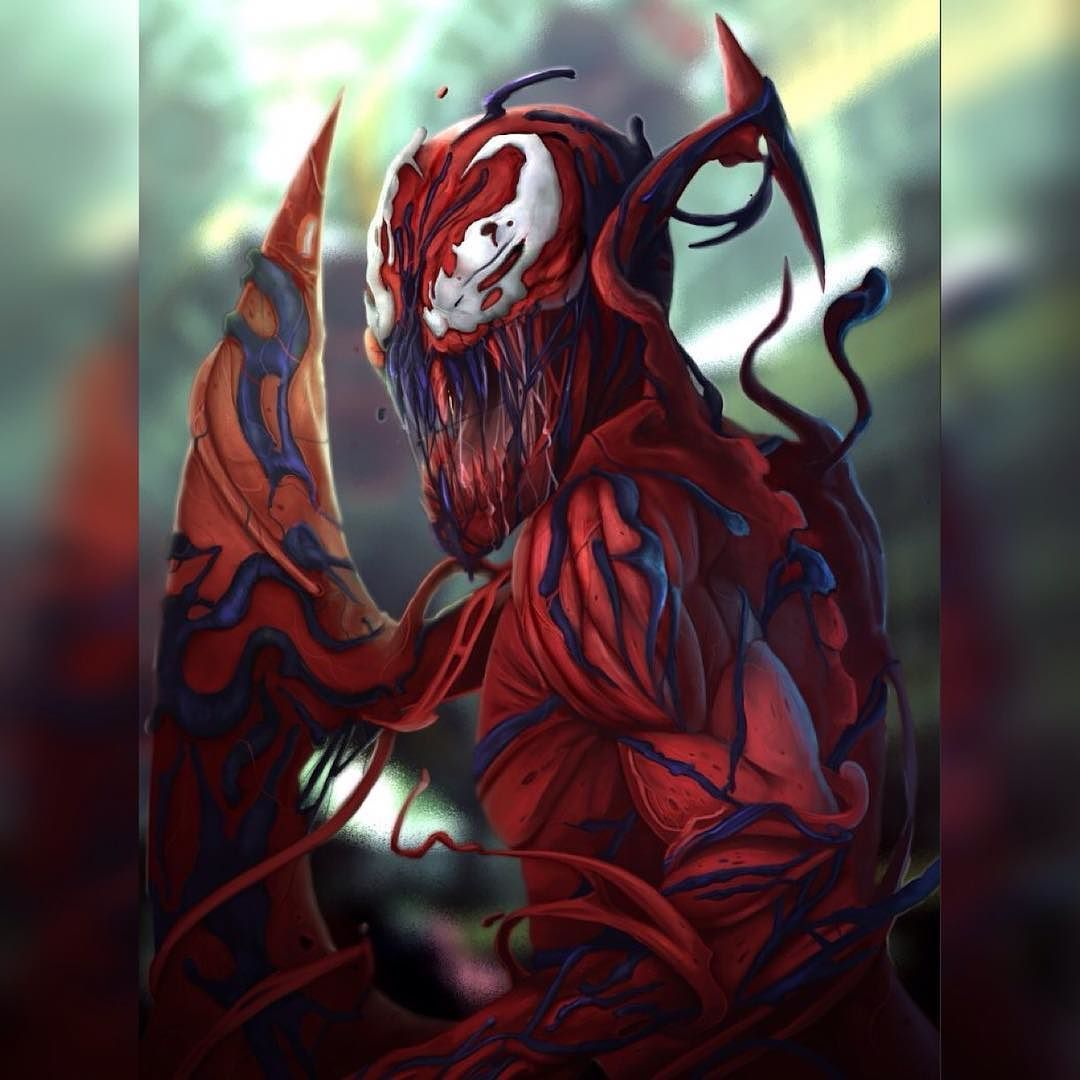 Carnage By Artist: Geraldo Velez  #Carnage #Spiderman #Symbiote #Art #DigitalArt #Artwork #Illustration #Amazing #Artist #DigitalArtist  #ArtisLife #SupportArt #ArtPositive #Love #Dccomics #Marvel #StarWars #Disney #Anime #Photooftheday #Artoftheday #TeamVillain #VillainQuinn #MystiqueQuinn  by devilzsmile.com #devilzsmile