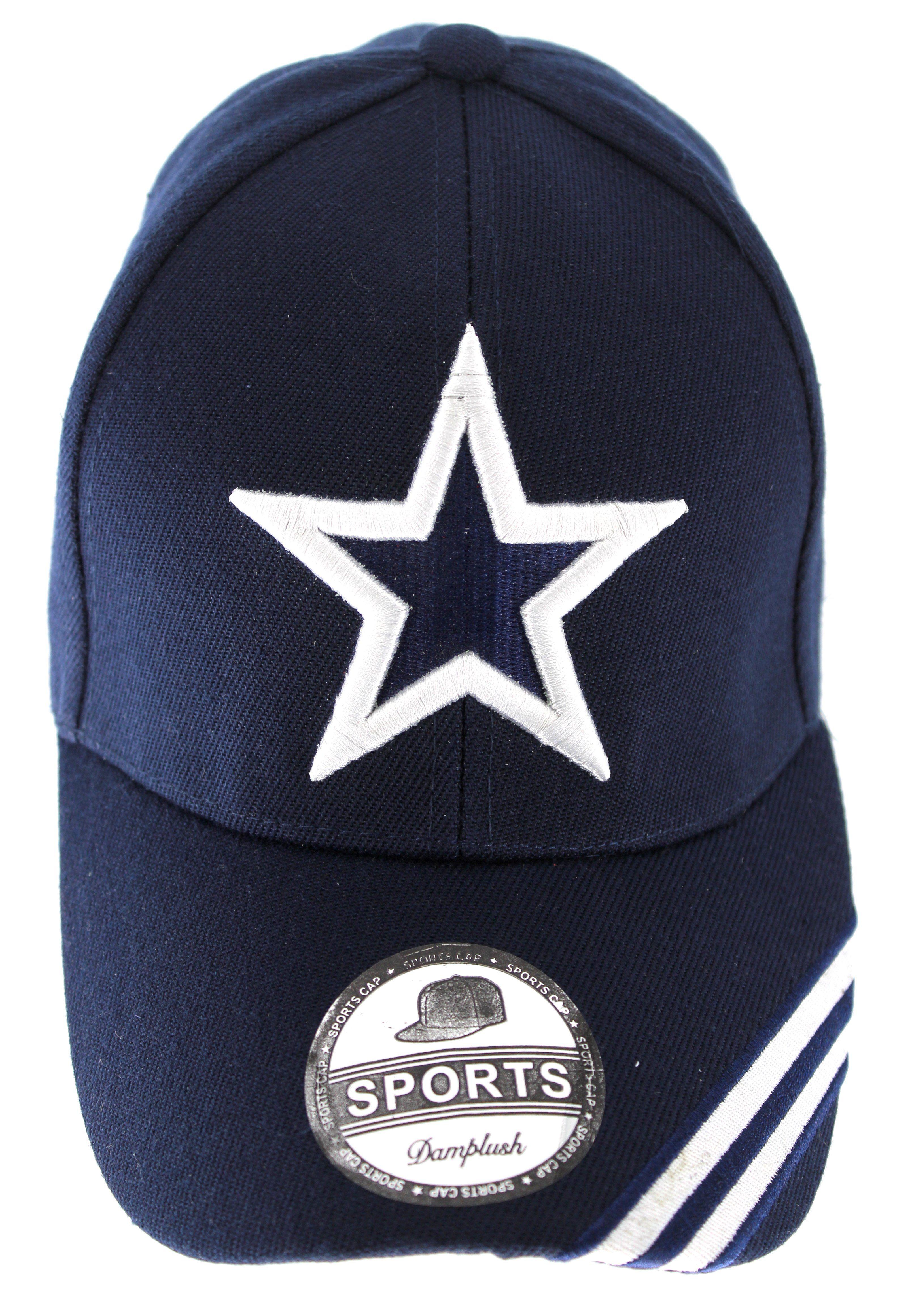 UNISEX DALLAS TEXAS CITY WHITE STAR NAVY COLOR ADJUSTABLE BASEBALL CAP HAT 6fa4cc633