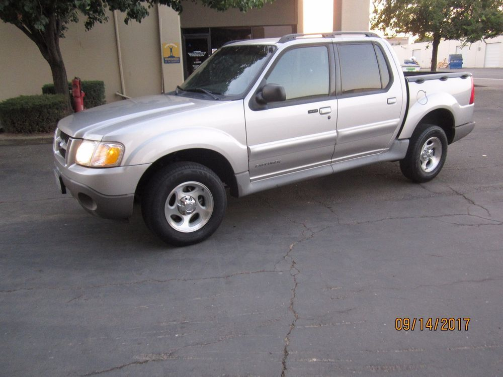 2002 Ford Explorer Sport Trac Crew Cab Pickup 4Door
