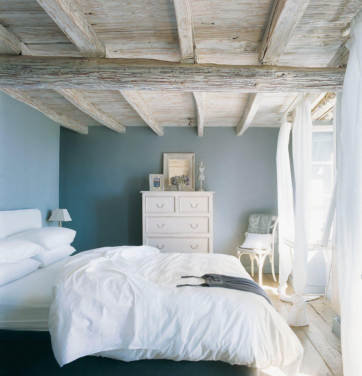 Siempre que puedas mant n el color original de las vigas o for Tejados madera blanca