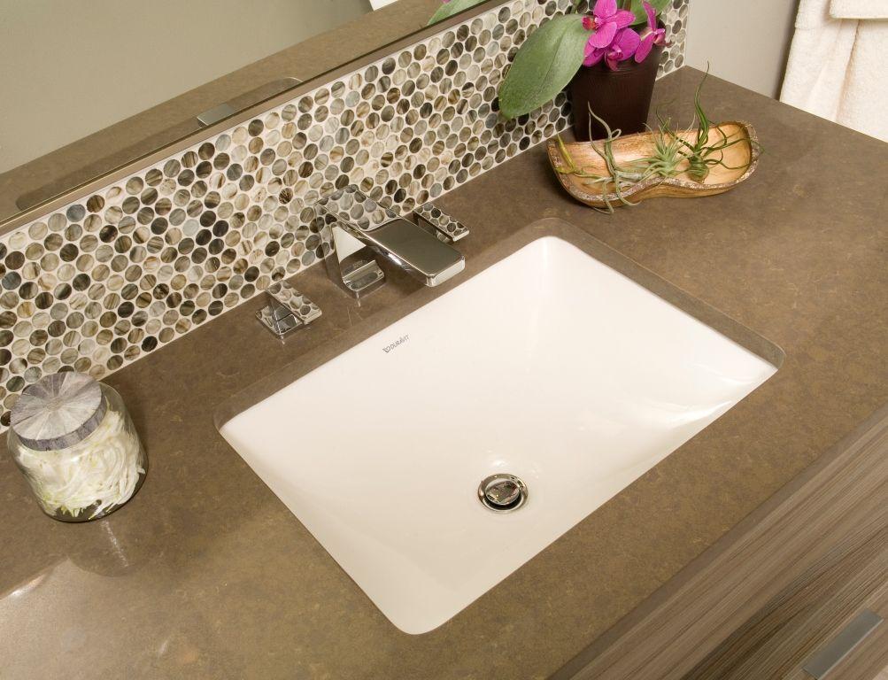 Custom Bathroom, Sink, Custom Tile, Modern