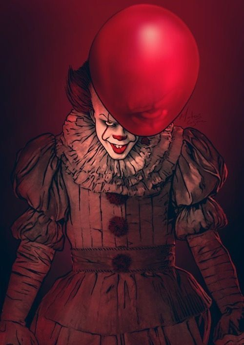 pennywise#clown mask#halloween props#creepy#horry decor# | Gore ...