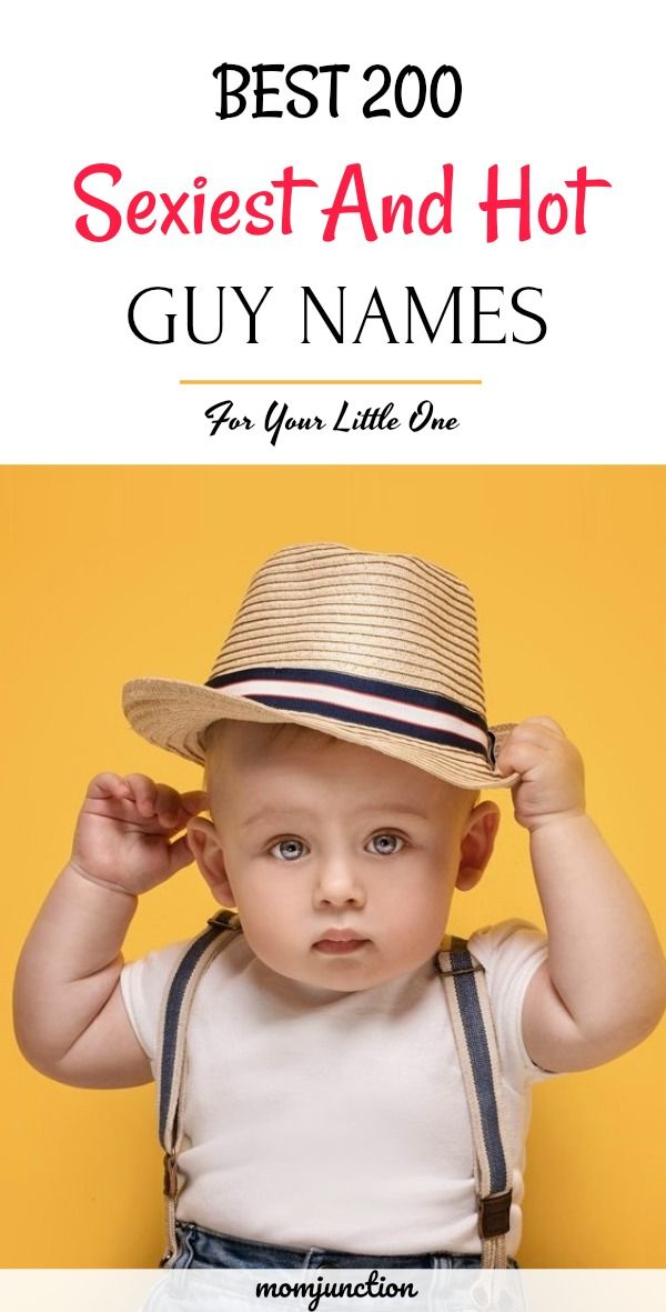 List of sexy mens names