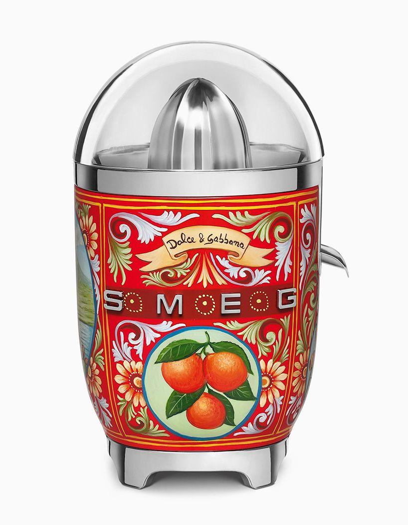 125fc1fbbe2a dolce   gabbana adorns smeg kitchen appliances with decorative sicilian  motifs