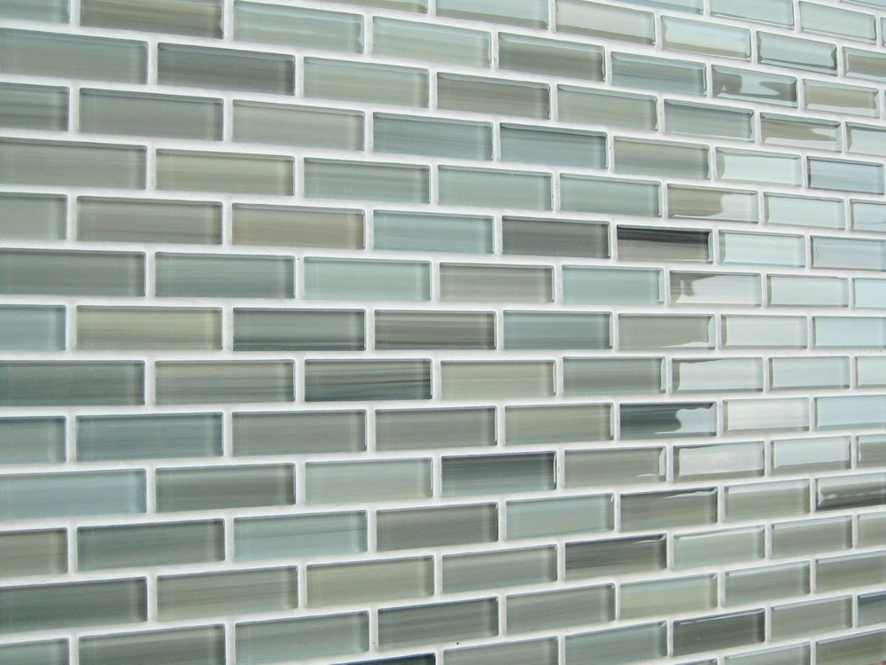 Gl Mosaic Subway Tile Bathroom
