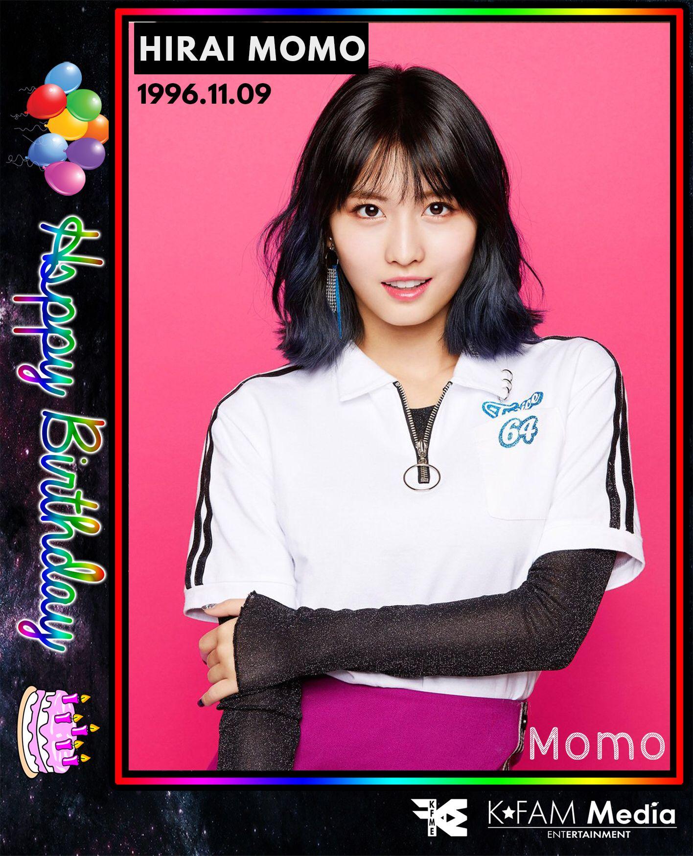 HALLYU BIRTHDAYS 2017/11/09⠀⠀⠀⠀⠀⠀ Happy birthday to Momo