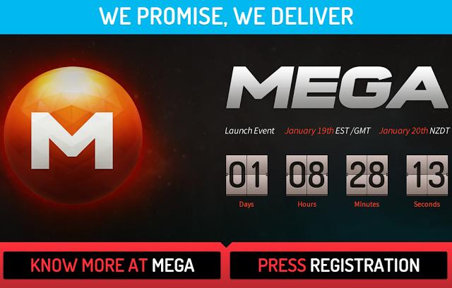 Kim Dotcom apre MEGA, il nuovo MegaUpload è in arrivo