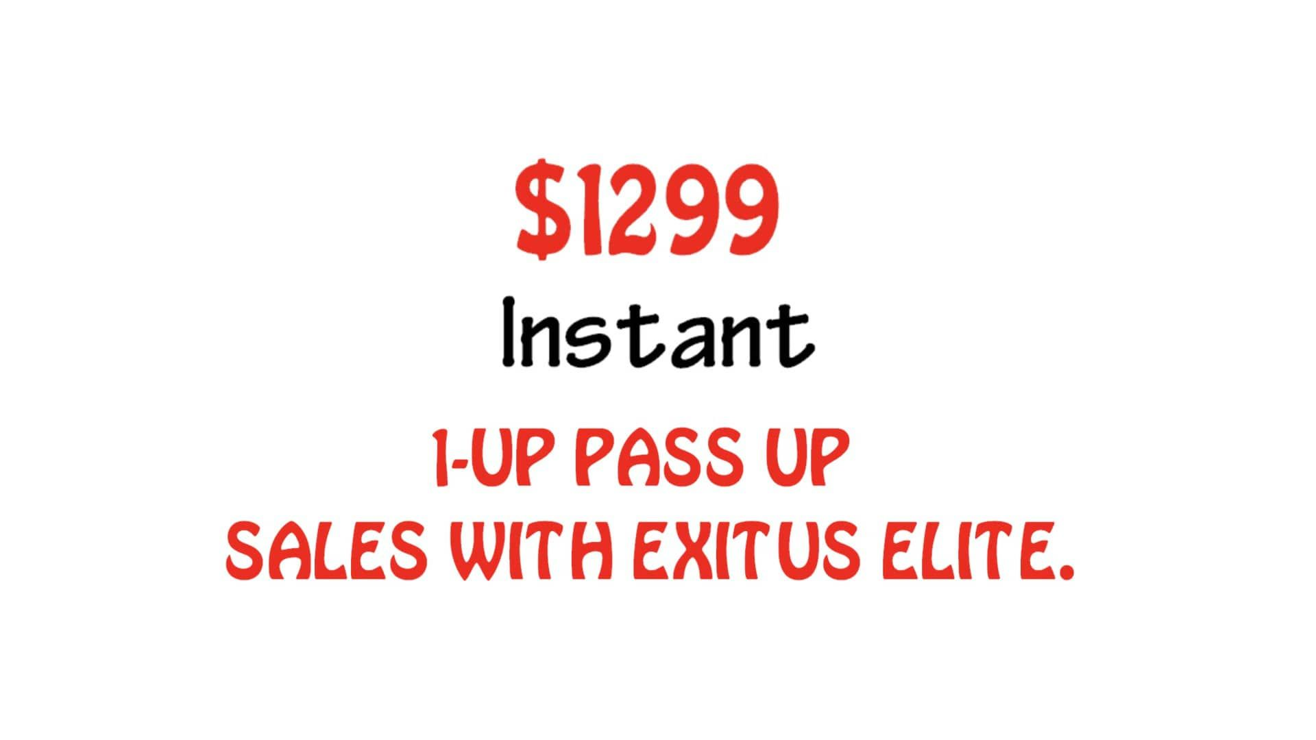 Exitus elite with images marketing campaigns residual