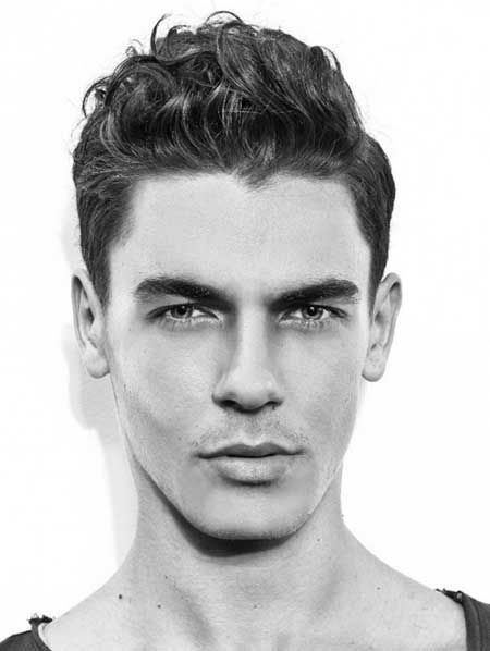 Astounding 1000 Images About Men39S Haircuts For Curly Hair On Pinterest Hairstyles For Men Maxibearus