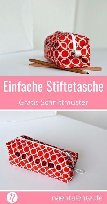 Photo of Schlampermäppchen | Gratis Schnittmuster & Nähanleitung | Nähtalente