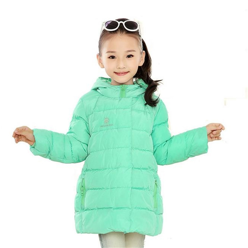 0d1c4aa0d9f 2016 New Arrivals Thick Warm Jackets New Brand 2016 Kids Girls Winter  Jacket Fashion Lightweight Outwear kids Warm Long Coat .