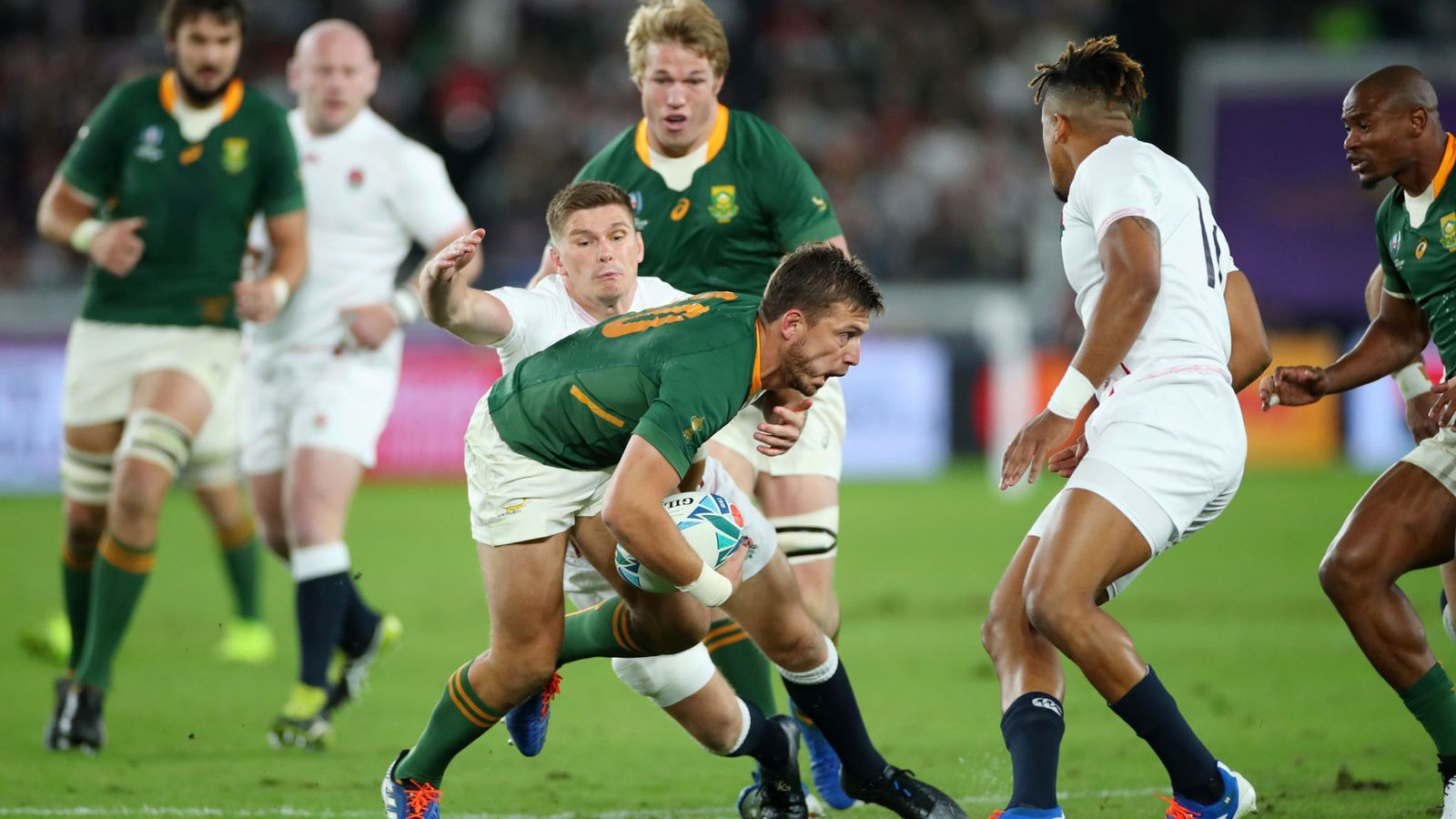 Rugby World Cup Final Heartbreak For England As South Africa Win 32 12 Rugby World Cup World Cup Rugby