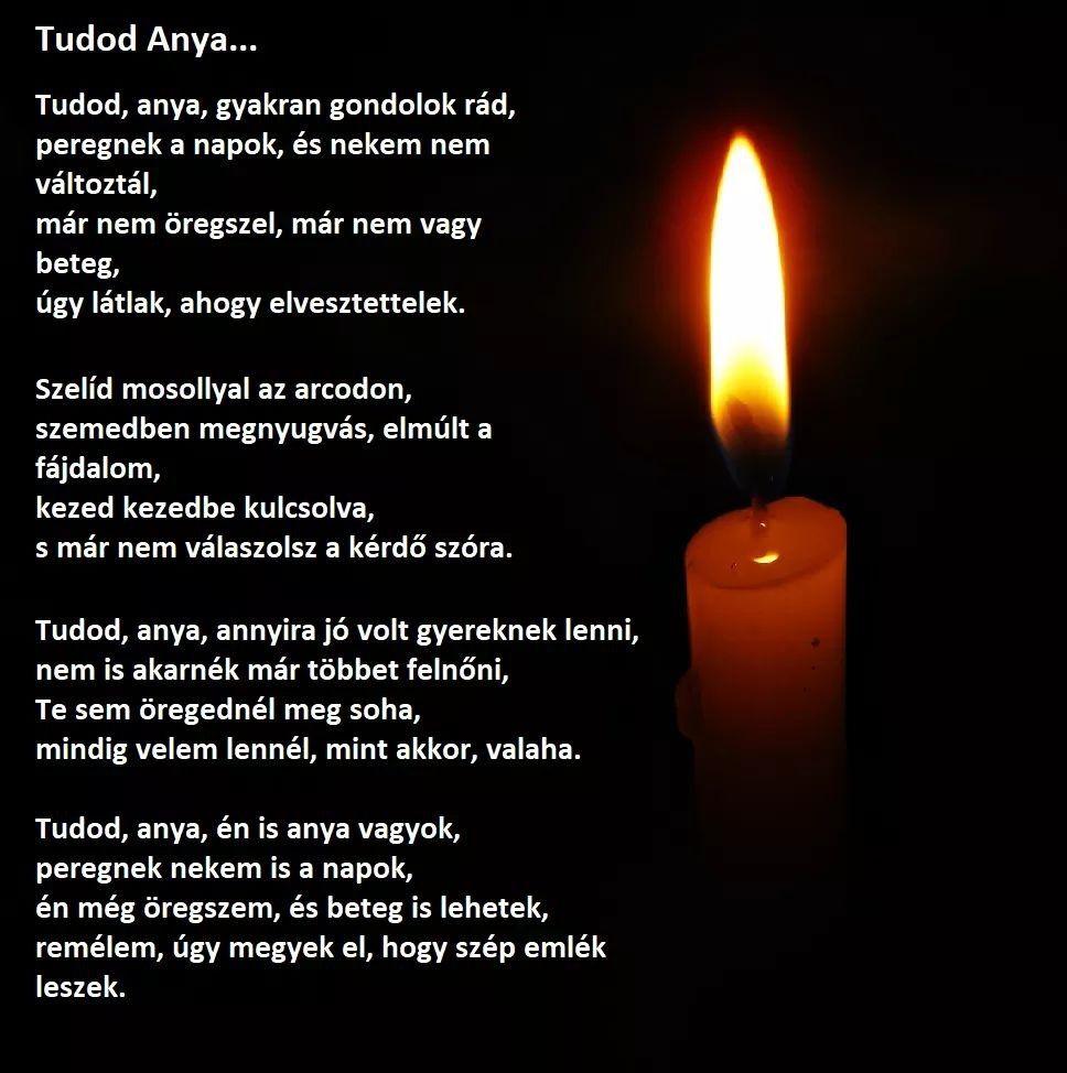 anya hiányzol idézetek Anya szeretlek   Inspirational quotes, Candles, Memoriam