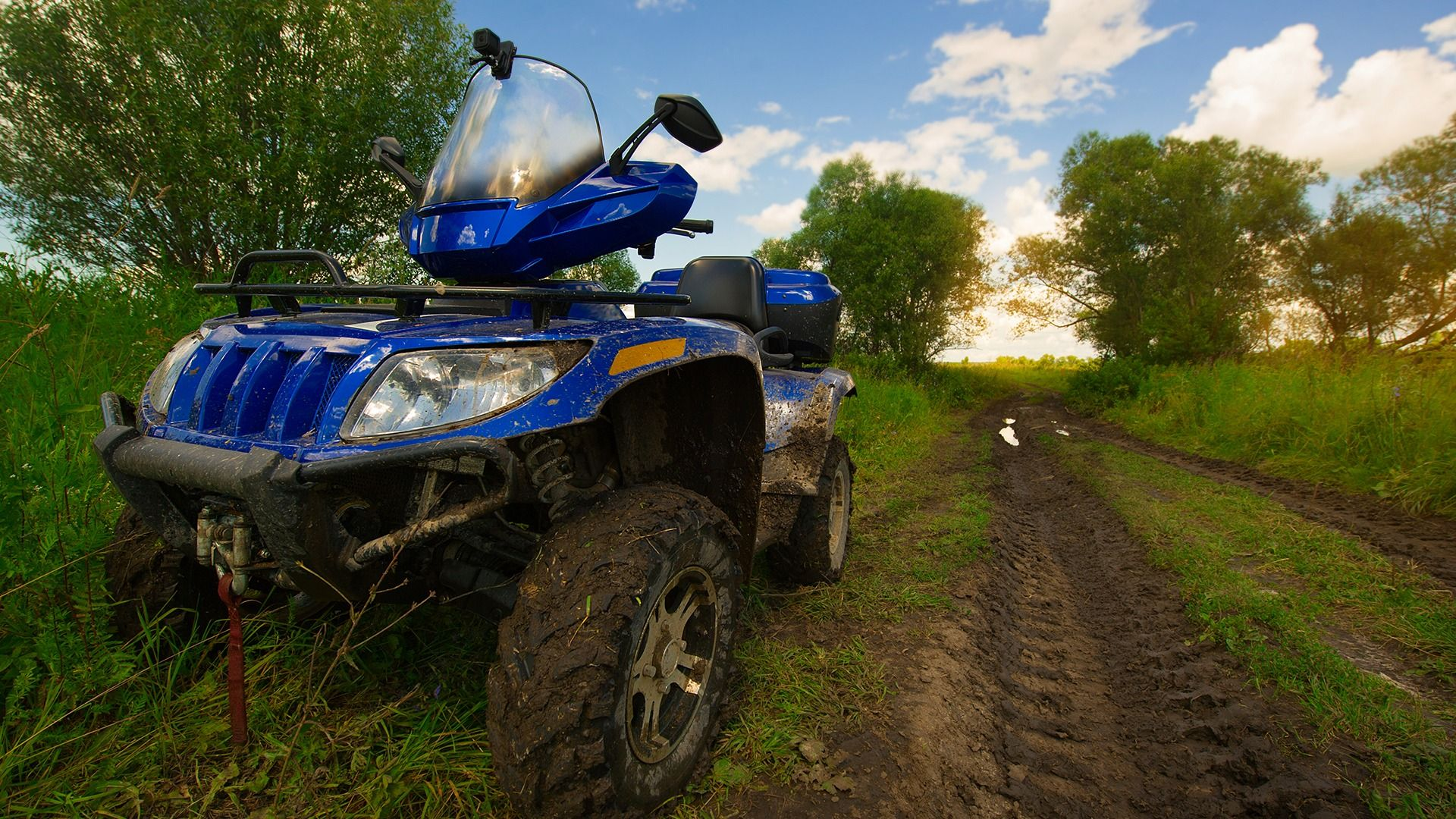 Atv Farm Tour Rides Up For A Farm Adventure We Just Brought In