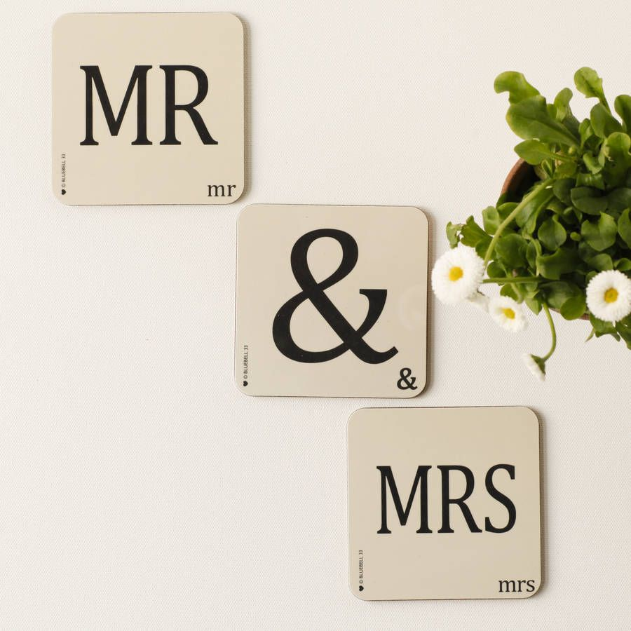 Couples Letter Coasters  Products Letters And Couple