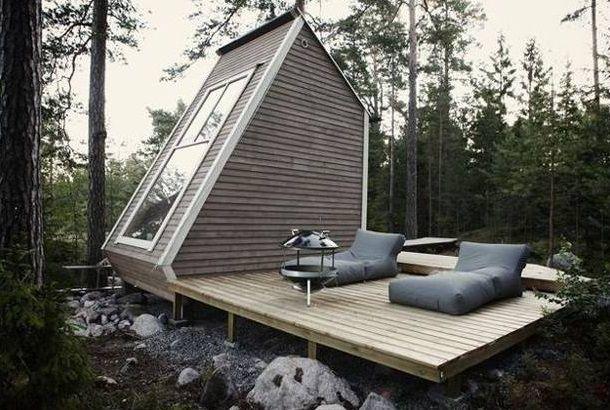 Planos casas de madera prefabricadas modelos casas for Casas de madera minimalistas