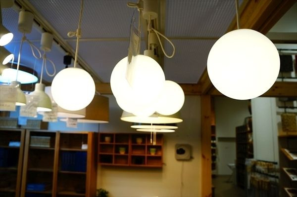 『無印良品の照明【スポットライト・ペンダントライト】を見てきた!/LED 店舗にて』