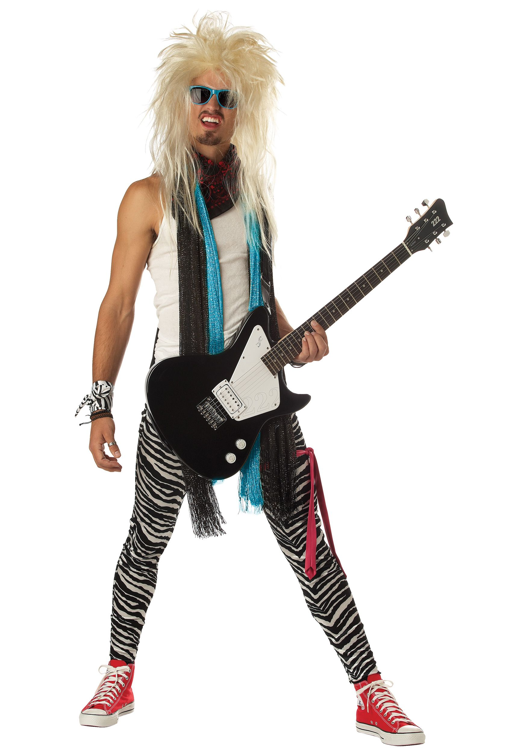 80s rockstar costume - 80s Rocker Halloween Costume